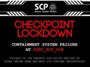 Heavy lockdown