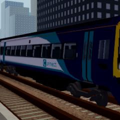 Class 158 #158911 at <a href=