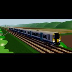 Class 458/5 between <a href=