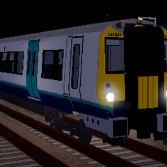 Class 458/5 at <a href=