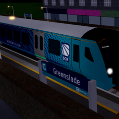 Class 730 terminating at <a href=
