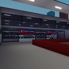 Platform Entrance