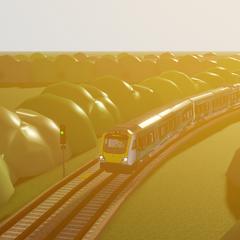 Class 331 #331001 between <a href=