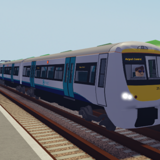 Class 357 #357066 at <a href=