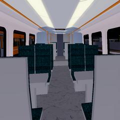 Interior of Class 458/5
