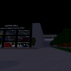 Outside Central Mall
