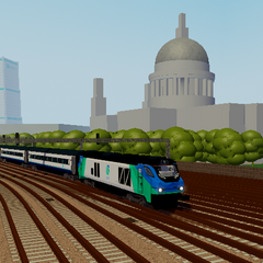 A Class 68 passing <a class=