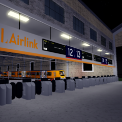 AirLink Concourse and the Management Offices above, with a <a href=