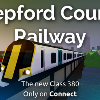 The thumbnail for Stepford County Railway on the Class 380 release. The picture was taken by RoseTaylorMurray.