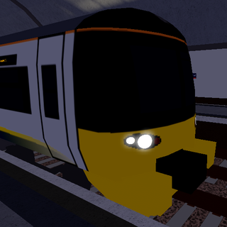 Class 332 with transitional <a href=