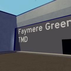 Depot building entrance.