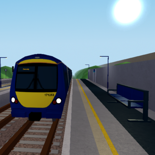Class 171 #171253 prior to the upgrade.