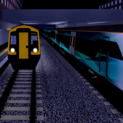 A Class 158 and <a href=