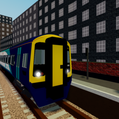 Class 158 at <a href=