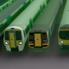 Old Class 158 between <a href=