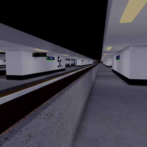 Platform 5c at Benton