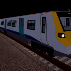 CSG livery Class 707 #707033 at <a href=