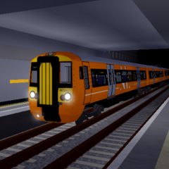Class 387 at Stepford Airport Central