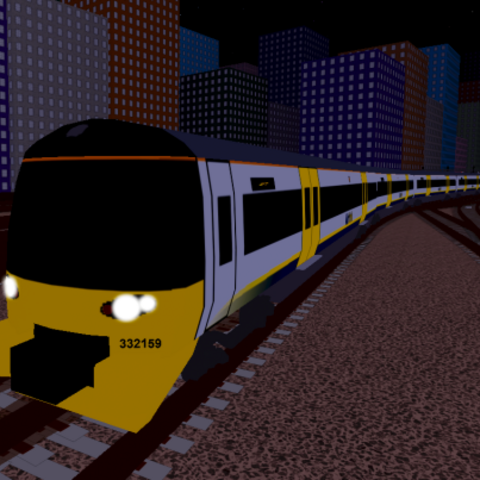 Class 332 with old <a href=