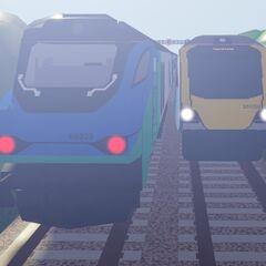 A Class 68 meets a legacy <a href=