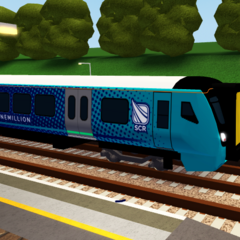 Old Class 730 stopping at <a href=