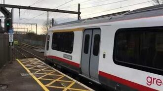 2X Greater Anglia Class 321 units departing Chelmsford