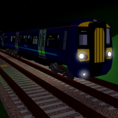 Class 379 in its old livery.