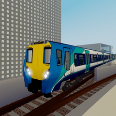 Class 458/0 number 458004 leaving <a href=