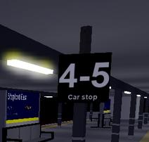 4-5 Car Stop
