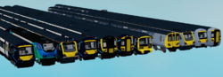 New Livery Trains