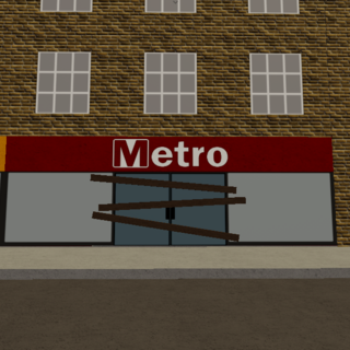 Metro building (abandoned)