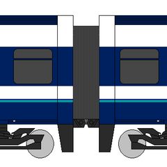 Fanmade diagram of Class 458/0