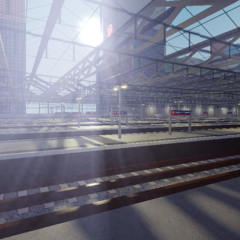 A look at all the platforms at the newly refurbished <a href=