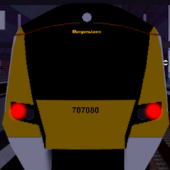 Class 707 bound for <a href=