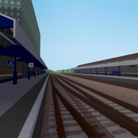 Platform 2B at Newry