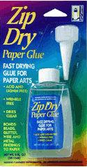 Zip Dry Paper Glue - 2 ounce bottle