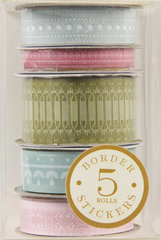 Anna Griffin - Francesca Collection - Border Stickers, BRAND NEW