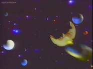 King Chicken Tells Moon Says Get Out of My Way