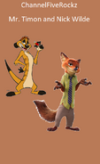Mr. Timon and Nick Wilde
