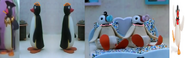 The Mayor, Pingu's Aunts, The Twins and Pinga as The Teensies