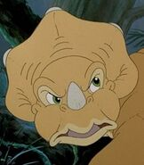 Cera in The Land Before Time 2 The Great Valley Adventure