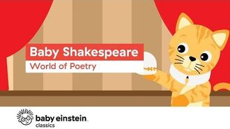 Poetry For Kids - Baby Shakespeare- World of Poetry - Baby Einstein