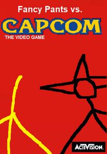 Fancy Pants vs. Capcom Poster