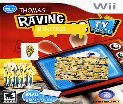 Thomas Raving Minions TV Party.