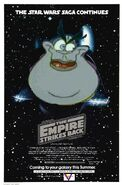 The Empire Strikes Back (Disney and Sega Style) Poster