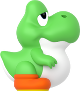 The baby yoshi green by toasted912 dcxu9lr-pre