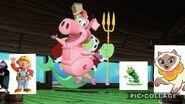 Pig and Frog Arrvie