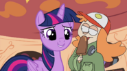 MLPCVTFQ - Deleted Scene Twilight Sparkle says for Saraline I'm alright my lef is a bit sleepy today and is that breakfast I smell.