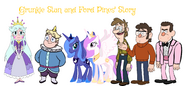 MLPCV - Grunkle Stan and Ford Pines' Story Character