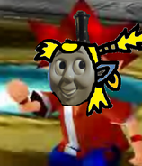 Thomas as Spike